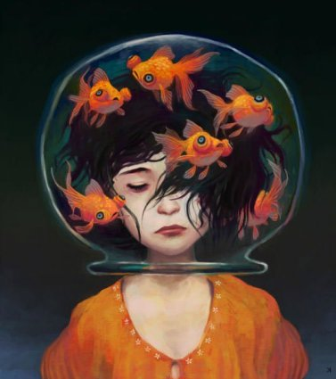 ken-wong-art-painting-goldfish-girl-design-inspiration